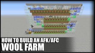 minecraft sheep farm