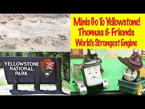 Minis Go To Yellowstone Journey Beyond Sodor - World's Strongest Engine Thomas & Friends