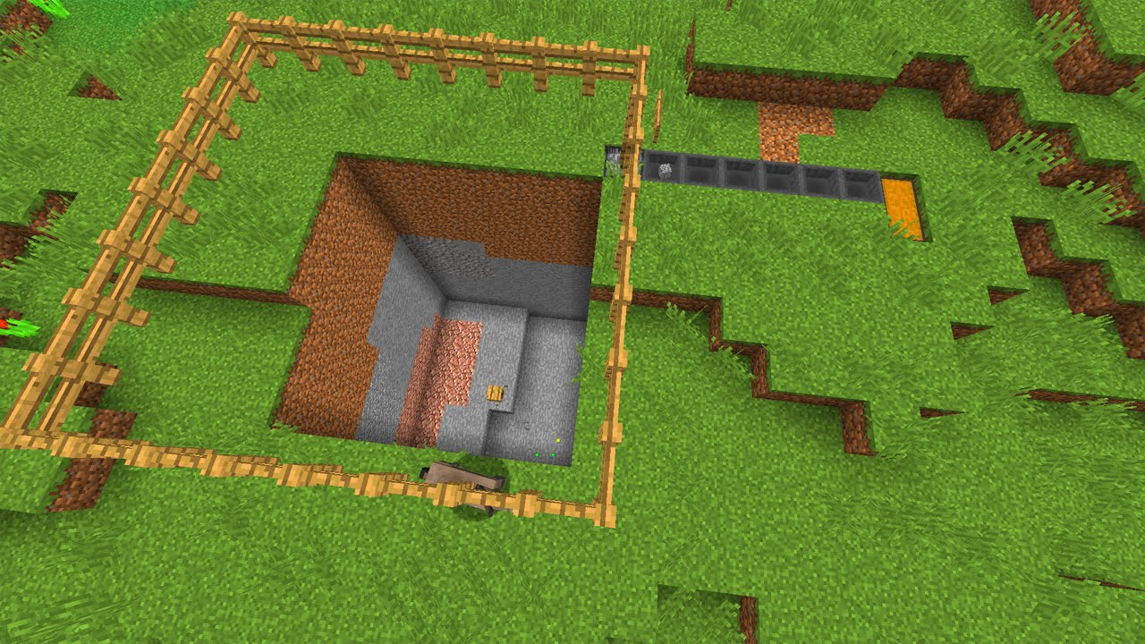 Buildcraft Quarry in Minecraft Vanilla! Mining! - Minecraft Creation