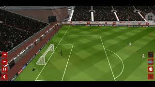 Dream league soccer   cú sút xa quá đẹp mắt của văn toàn vào lưới Gonen