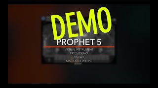 Sequential Circuits Prophet 5 Demo VST