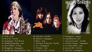 Asin, Coritha, Sampaguita Greatest Hits - Best of Asin, Coritha, Sampaguita Tagalog LOve SONgs 2019