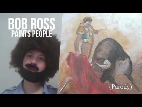 Bob Ross Paints People (Parody)