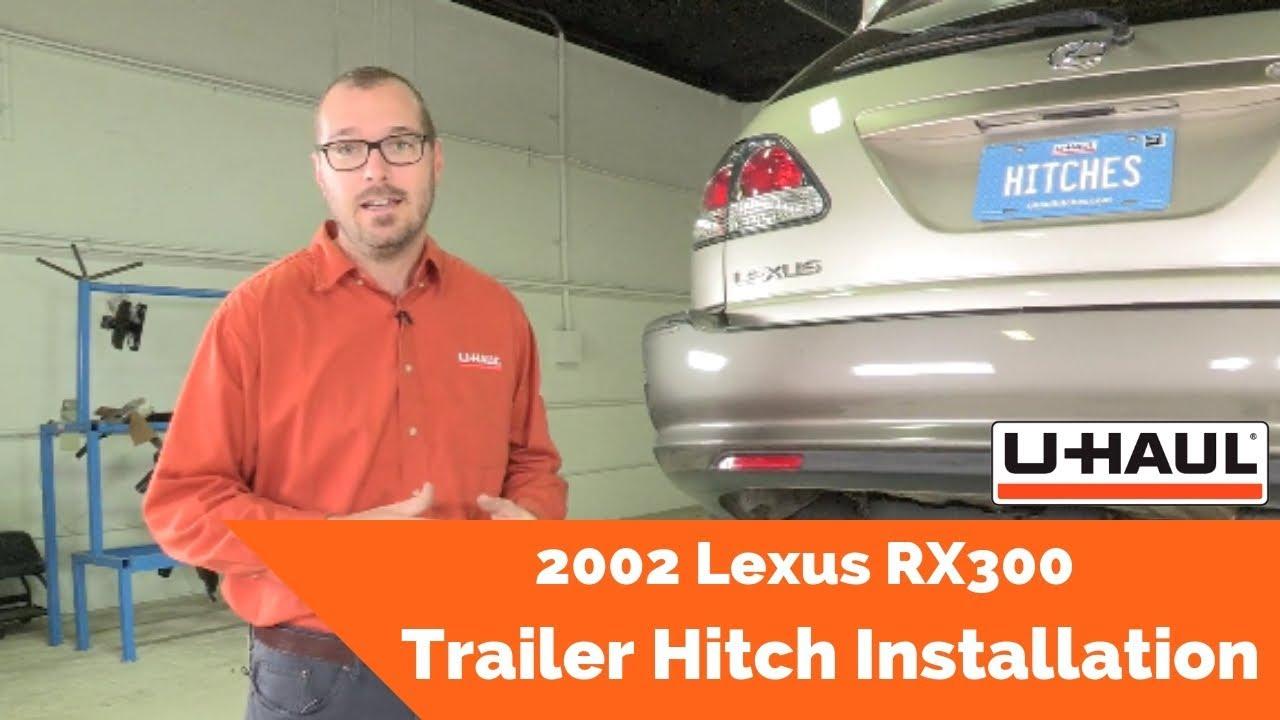 2002 lexus rx300 trailer hitch installation youtube Trailer Hitch Electrical Wiring 2002 lexus rx300 trailer hitch installation