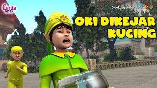 Cerita Anak - Oki Dikejar Kucing - Petualangan Oki Nirmala - Film Anak