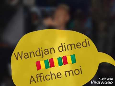 Wandjan dimedi (affiche moi) 🇬🇳2019