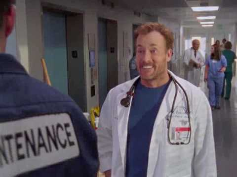 Scrubs Cox And Janitor Are Bar Buddies
