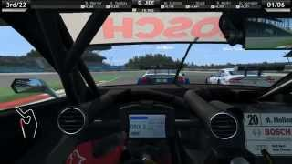 DTM Experience Nürburgring gameplay (PC)