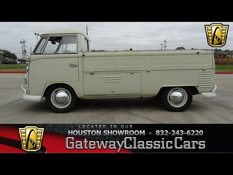 1963 Volkswagen Type 2 Single Cab Pickup Gateway Classic Cars #648 Houston Showroom