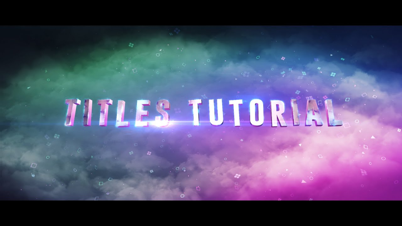 3d Colour Wallpaper Free Download After Effects Tutorial Suicide Squad Titles Recreation