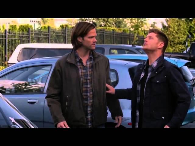 Supernatural 9x05 - Dean Vs Pigeon (FUNNY)