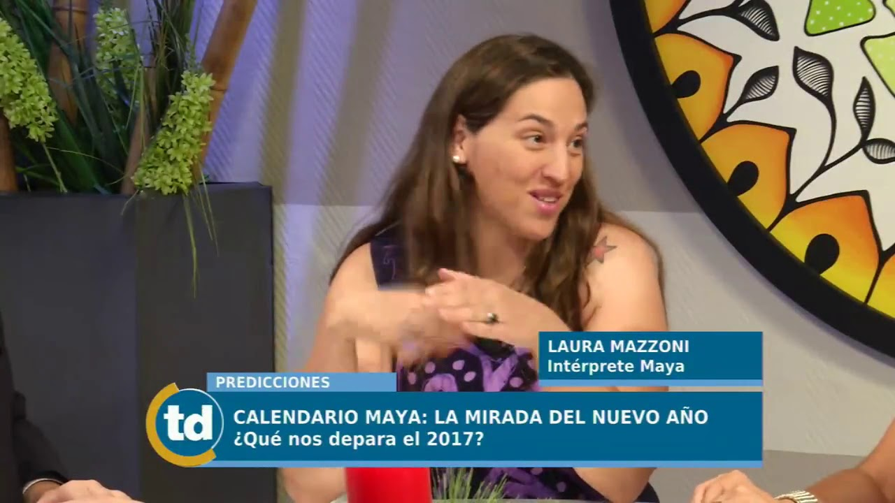 Calendario Laura.Telediario Digital Calendario Maya Laura Mazzoni