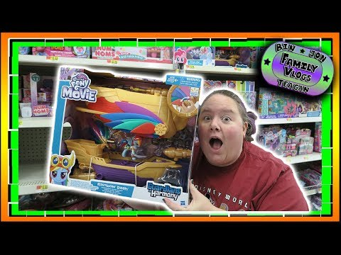 SHE GETS IT!!! MLP The Movie Air Ship! 8.23.2017   Bin And Jon's Daily Vlogs