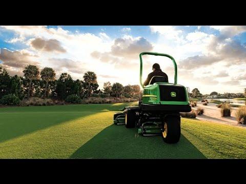 Bakom kulisserna - Golfmaskiner från John Deere