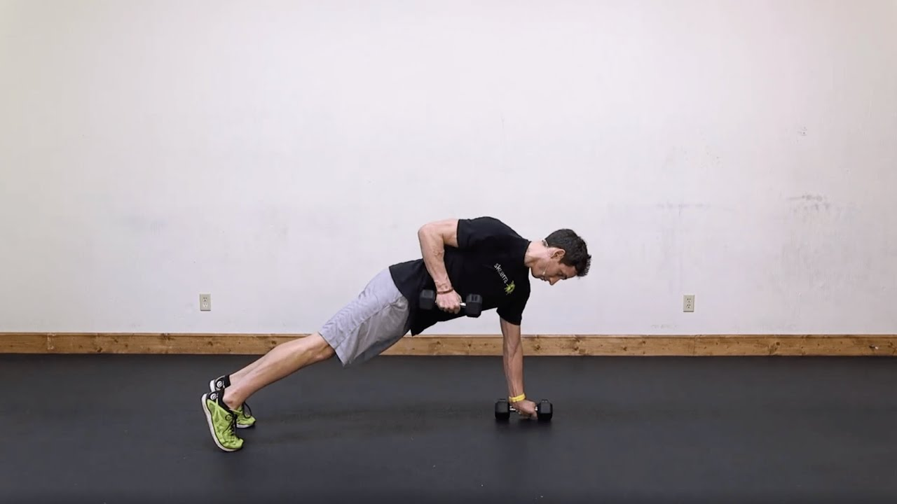 Lean: Renegade Row, Squat, & Plank