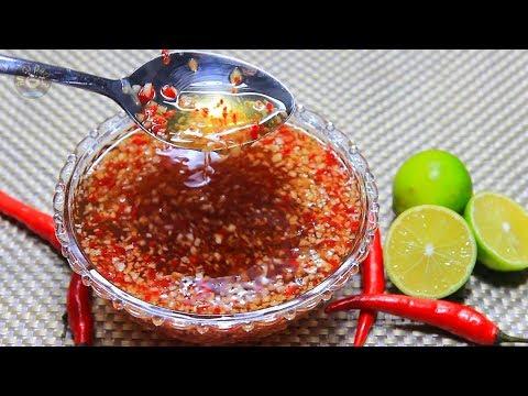 Cách Làm Nước Mắm Chua Ngọt Sánh Kẹo ăn cơm tấm, gỏi cuốn bún tuyệt ngon pha đúng tỷ lệ