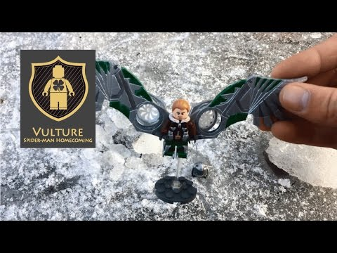 Spider man homecoming custom lego vulture youtube for How to stop spiders coming in your house