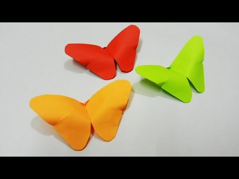 How to make a Paper Butterfly, Easy