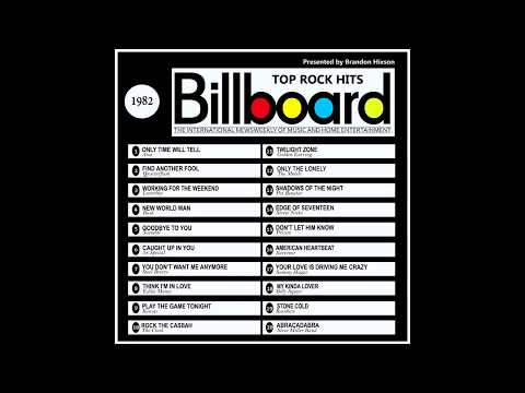 Billboard Top Rock Hits - 1982