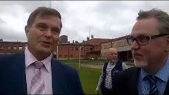 Eduskunnan lakivaliokunta vieraili Pelson vankilalla