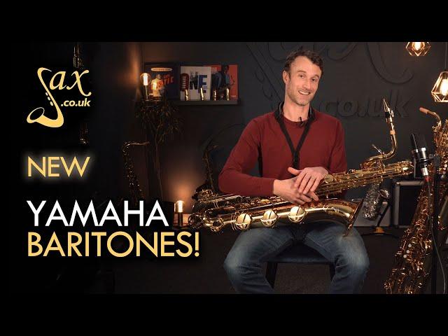 NEW Yamaha YBS-480 & YBS-62II Baritone Saxophones!