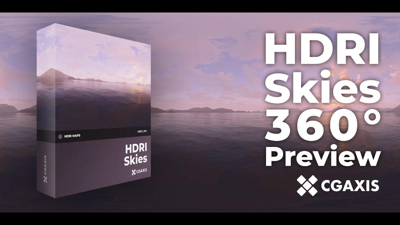 CGAxis HDRI Skies 360 Preview
