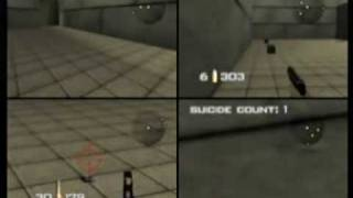 Goldeneye 64 Multiplayer Gameplay
