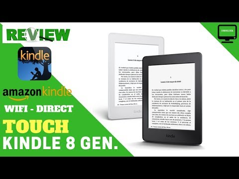 Kindle Lector Digital Amazon 8 Gen Ultima Touch - Droleek Review