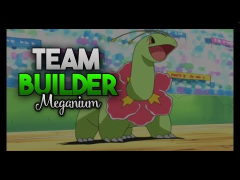 Meganium Team Builder (Pokemon Soul Silver And Heart Gold)