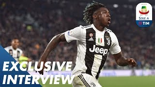 Juventus and Italy Wonderkid | Moise Kean | Exclusive Interview | Serie A