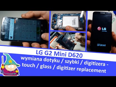 LG G2 Mini D620 - wymiana dotyku / digitizera / szybki - touch / digitizer / glass replacement