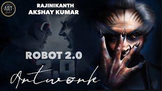 Robot 2.0 | Akshay Kumar Painting