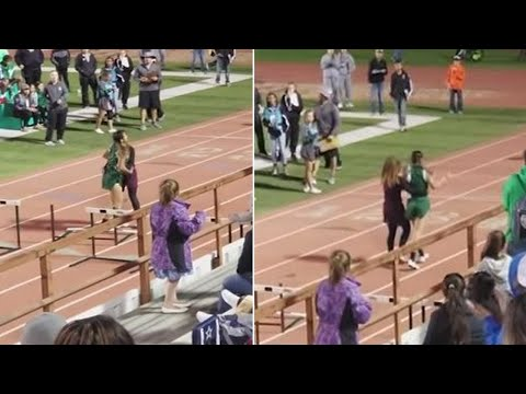 Kindhearted Runner Helps Opponent Cross Finish Line After Harsh Fall