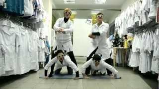 Gangnam style - JASMINE медицинская одежда(http://lalaland.com.ua - медицинская одежда. http://rfoto.dp.ua - видео. http://tsum.in.ua - солнцезащитные очки., 2012-12-26T20:16:40.000Z)