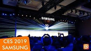 Samsung na CES 2019: Resumão da coletiva em português