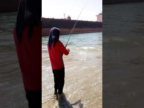 Fishing at gadani ship breaking yard