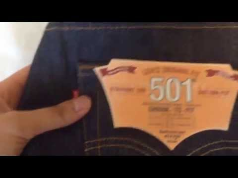 Levi's 501 Shrink to Fit レビュー