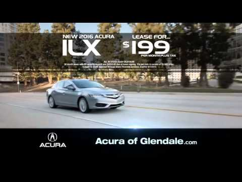 Acura Of Glendale >> 2015 Acura Glendale Summer Sales Event Youtube