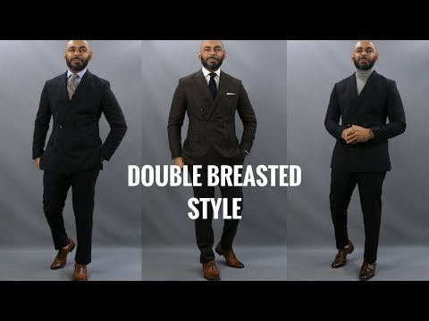 00befaee How To Wear A Double Breasted Suit/6 Top Do's & Don'ts Of Wearing A Double  Breasted Suit - YouTube