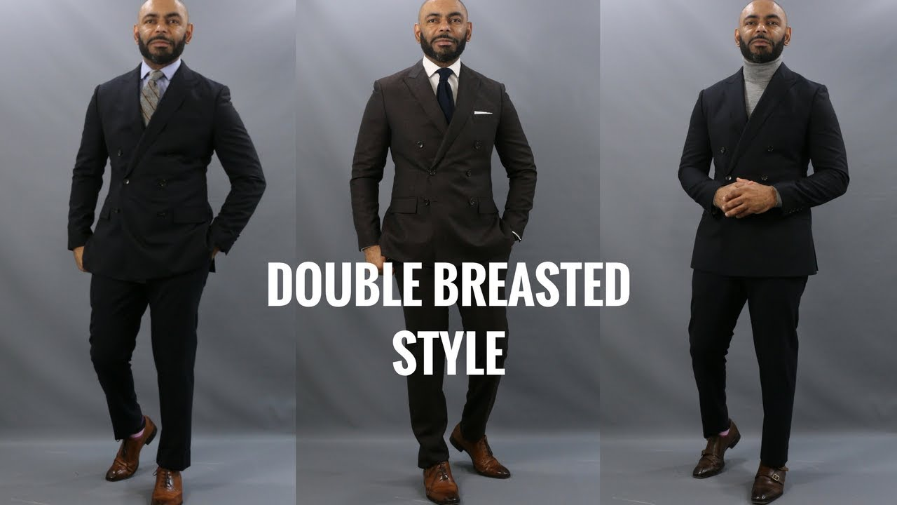77d1256f1 How To Wear A Double Breasted Suit/6 Top Do's & Don'ts Of Wearing A Double  Breasted Suit