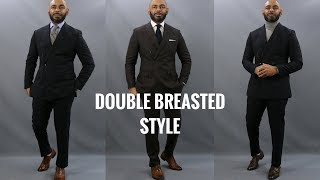 How To Wear A Double Breasted Suit/6 Top Do