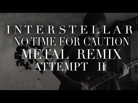 No Time For Caution - Guitar Cover 2 (Interstellar Symphonic Metal Tribute)