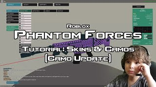 Roblox Phantom Forces: Skins & Camos Tutorial (camo update)