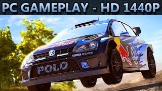 WRC 5 FIA World Rally Championship | PC GAMEPLAY | HD 1440P