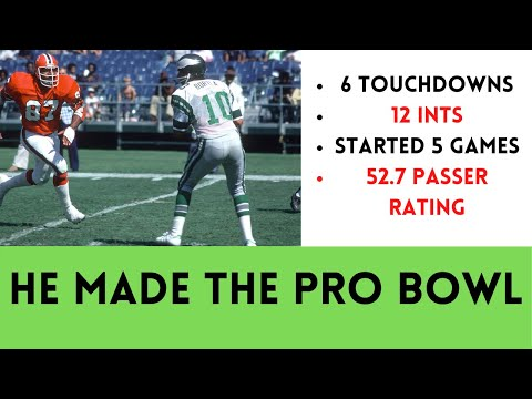 [OC] [Highlight] In 1975, Eagles QB Mike Boryla threw for 966 yards (30th in a 26-team league), 6 TDs, and 12 INTs. The Eagles went 4-10. Somehow, Boryla made the Pro Bowl. This is the story of the worst player in NFL history to ever make the Pro Bowl