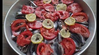 Balık Sezonu Açıldı !! Gelsin En Güzel Fırında Hamsi Balığı Buğulama Tarifi