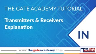 Transmitters & Receivers Explanation   Communication System Tutorials   Live Interactive Classes