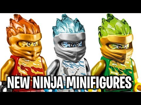 LEGO Ninjago Forbidden Spinjitzu NEW NINJA MINIFIGURES Images! *Best Minifigures Ever?!*