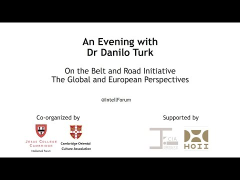An Evening with Dr Danilo Turk