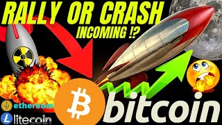 RALLY OR CORRECTION INCOMING FOR BITCOIN LITECOIN and ETHEREUM!!?? price, analysis, news, trading